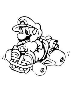 Mario Ausmalbilder Ausmalen Coloring Coloringpagesforkids Kinder
