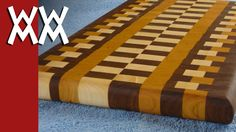 GORGEOUS   Build a wood cutting board using Cutting Board Designer