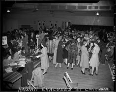 Evacuees from Pearl Harbor, Hawaii, returned to the San Francisco Bay Area in the days following the attack that drew the U.S. into World War II. (1941) Photo: San Francisco Chronicle Archive, The Chronicle