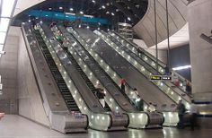 Practice escalator etiquette.