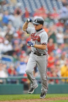 Chipper Jones Photo - Atlanta Braves v Washington Nationals - Game One