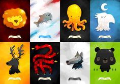 """Game of Thrones Sigils"" - Renaud Forestie"