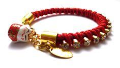 Bracelet Maneki Neko  http://www.lesbijouxacidules.com/bracelet-maneki-neko-rouge-p-1336.html
