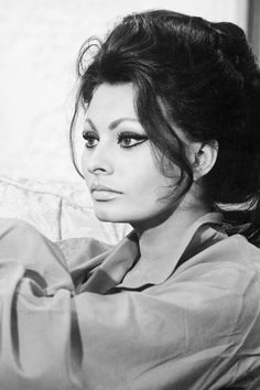 The beautiful Sophia Loren