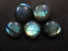 Natural Labradorite Round Cabochon 18X18 mm 1 pcs by 8gemsinc, $12.99
