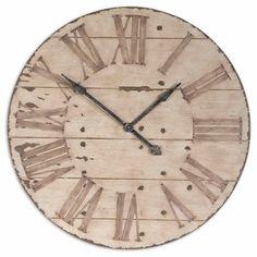 Harrington Reclaimed Look 36-in. Wall Clock - Wall Clocks at Hayneedle