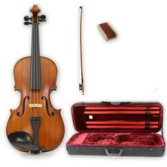 Legacy LVN50014154122 StepUp Student Violin Full Size 44 with Ebony Fittings Deluxe Case -- Want to know more, click on the image.Note:It is affiliate link to Amazon. #tflers