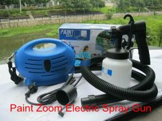 230V 75W Paint sprayer gun MINI Paint zoom with 600ML Capacity