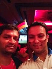 #GERPOR with our Indian colleagues in Bangalore  #selfiesworldwide  #fifaworldcup2014