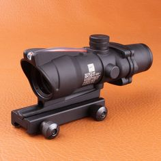 Trijicon ACOG  4X32 Fiber Source Red Illuminated Scope w RMR Micro Red Dot Tactical Hunting Riflescope - Loluxe