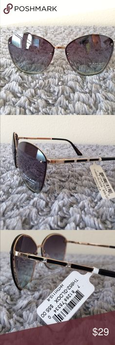 Brand New Unused TAHARI Green/Gold/Black Shades Brand New Unused TAHARI Green/Gold/Black Shades Tahari Accessories Sunglasses