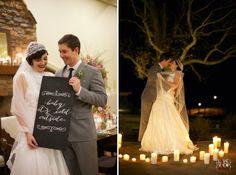winter wedding idea :: beautiful candlelight wedding portrait - #20s #roaringtwenties #thegreatgatsby #wedding - vintage wedding photographers, raleigh nc