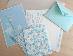 【夏の福袋2017】 みずいろ 紙ものセット カード・レター QK ハンドメイド通販・販売のCreema
