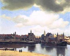 View on Delft  - Johannes Vermeer 1965