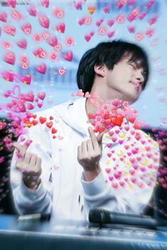 Namjoon, Seokjin, Bts Taehyung, Bts Meme Faces, Funny Faces, Bts Jin, Foto Bts, Bts Emoji, Heart Meme