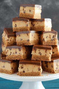 Peanut Butter Cookie Dough Bars