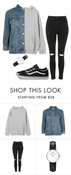 """Untitled #21"" by mikasma ❤ liked on Polyvore featuring Topshop and Vans"