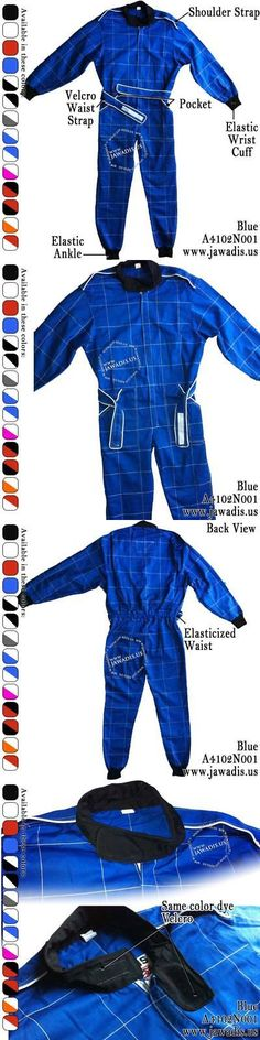 Clothing and Protective Gear 159029: Blue Adult Go Kart Racing Miami Go Suits Go Kart Clothing For Sale And Free Case -> BUY IT NOW ONLY: $59.95 on eBay!
