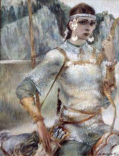 Volga Bulgar warrior