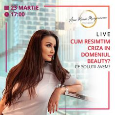 #live #beautycrisis #solutions #anamariamargineanu Permanent Makeup, Banners, Advertising, Live, Beauty, Banner, Cosmetology, Commercial Music, Bunting