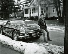 Bruce Springsteen poster on sale at theposterdepot. Poster sizes for all occasions. Always Fast secure shipping from USA seller. Bruce Springsteen Poster Corvette ins for sale. Check out our site for latest sales. Cadillac Eldorado, Cadillac Escalade, Chevrolet Corvette, Chevy, 1958 Corvette, 1969 Chevelle, Bruce Springsteen, Aston Martin Db5, Lamborghini Miura