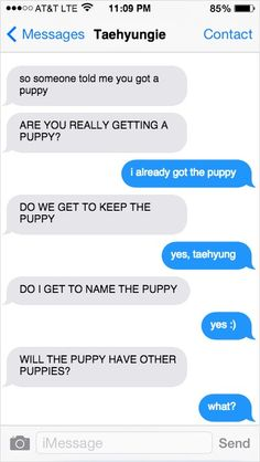 BTS finding out you got a new puppy. 3/7
