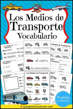 Awesome collection of Spanish Vocabulary printables for Spanish Preschool, Spanish Immersion Kindergarten, and Elementary Spanish. Preschool Spanish Lessons, Spanish Teaching Resources, Spanish Lesson Plans, Spanish Activities, Kindergarten Vocabulary, Spanish Vocabulary, Elementary Spanish, Spanish Classroom, Fun In Spanish