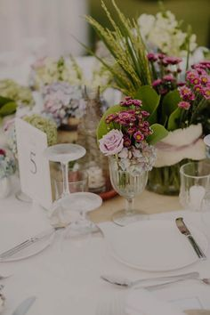 Luxe floral centerpieces   Image by Robert J Hill