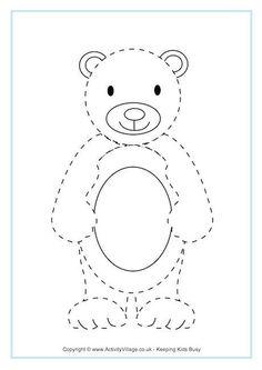 Bear Tracing Page