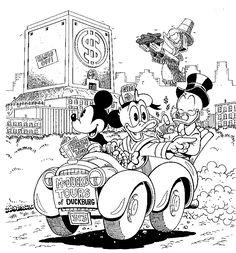 Disney Weirdness: Don Rosa Draws Mickey Mouse