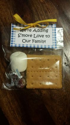 Party favor for a Baby-Q (coed baby shower bbq)!