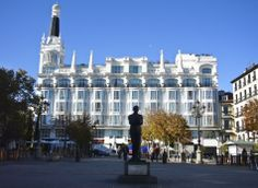 Hotel Reina Victoria, Plaza Santa Ana, Madrid