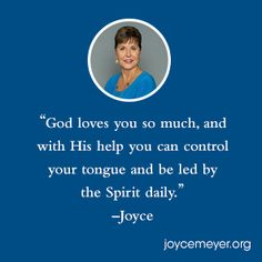 Anger isn't a sin, but if you let it well up inside you, there's no telling what it could lead you to do. Joyce Meyer teaches us how to deal with anger the right way. Prayer Scriptures, Bible Verses, Joyce Meyer Quotes, Slow To Speak, Anger Quotes, Dealing With Anger, Joyce Meyer Ministries, God Help Me, God Loves You