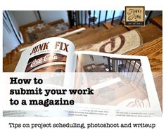 How to submit your work to a magazine: By Funky Junk Interiors