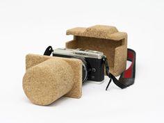 Cork Camera Case - Robb