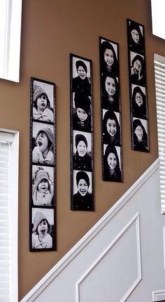 Photo booth wall - homeideamaker.com