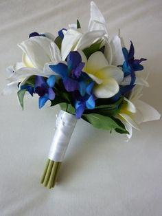 Southern Blue Celebrations: Blue Bridal Bouquets Ideas & Inspirations