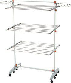 Laundry Clothes Storage Drying Rack Portable Folding Dryer Hanger Heavy Duty #LaundryClothesStorage