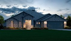 Timeless style defines the Tracy plan, a new home built by Betenbough Homes at Bella Mia Estates. Lubbock, TX.