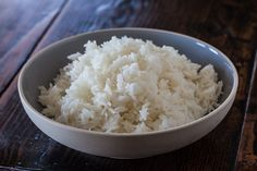 How to cook perfect rice in the microwave | Steamy Kitchen Recipes