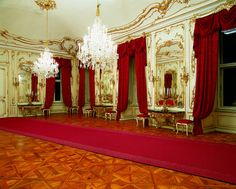 Mirrors Room at Schönbrunn Palace, Vienna, Austria. - http://www.schoenbrunn.at/en/things-to-know/palace/tour-of-the-palace/mirror-room.html