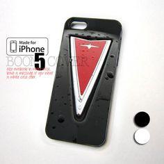 Pontiac Logo Car Grill design for iPhone 5 Case