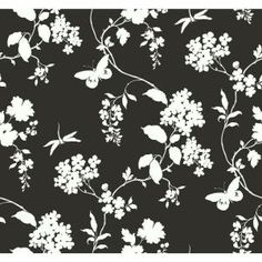 Entryway walls- York Wallcoverings, 60 sq. ft. Scenic Vines Wallpaper, AP7431 at The Home Depot - Mobile