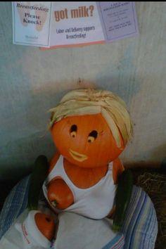 breastfeeding pumpkins 6 #breastfeeding #pumpkins #halloween