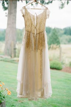 Beautiful shot of the dress--take a picture of it on the hanger outside!