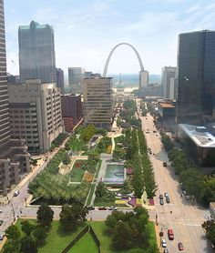 St. Louis: City Garden and the Millennium Park Effect | Sustainable Cities Collective