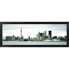 This glossy panoramic photo print is framed and ready to hang. With high…