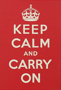 Keep Calm & Carry On Poster for Sale - New Zealand Art Prints
