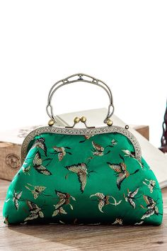 Butterfly Vintage Evening Bag