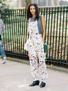 Spring Awakening! 25 Floral Outfits To Welcome The New Season via @WhoWhatWear